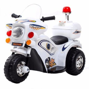 Harga YX-800 Kids Rechargeable Ride On Motor Bike (White)