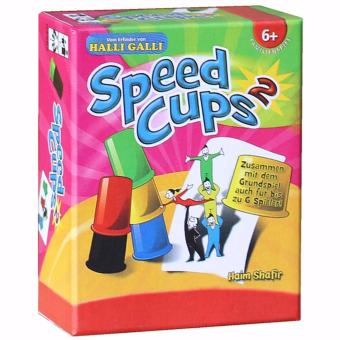 Speed Cups Board Game Funny Game For Party/Family Game with English Manual /2Players Price Philippines
