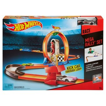 Harga Hot Wheels® MEGA RALLY Trackset