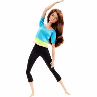 Harga Barbie®Made to Move Barbie Doll, Blue Top
