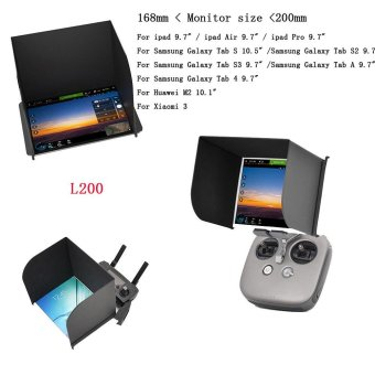 PGY L200 Black PAD Monitor Hood Sunshade FPV for DJI MAVIC Phantom4 PRO Inspire Black - intl Price Philippines