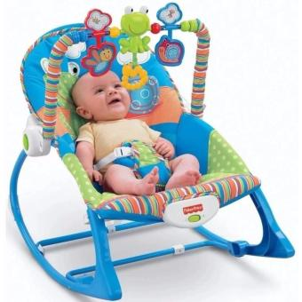 Harga Fisher-Price Infant To Toddler Rocker Frog Design
