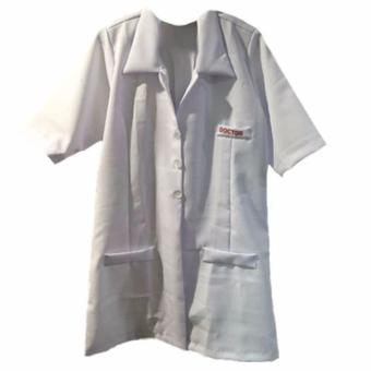 Harga Kids Unisex Career Doctor Physician Costume S (Ages 5 to 6)