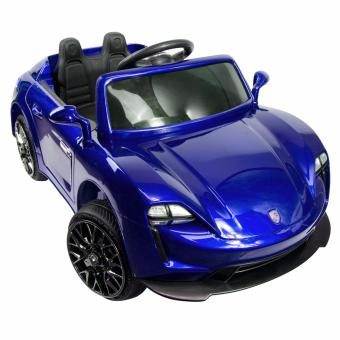 Harga PhoenixHUb Luxury Electric Dual Motor Kids Ride On Sports Race Car with REMOTE BLUE porche design