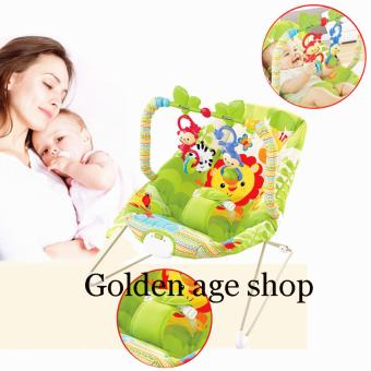 Harga Fisher~Price Rainforest Friends Rocker Reclining (Lion)