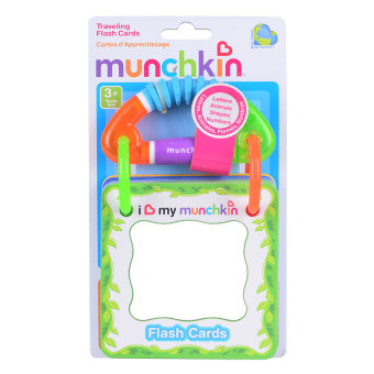 Harga Munchkin Travelling Flash Cards (Multicolor)