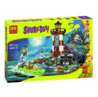 437pcs Bela 10431 Haunted Lighthouse Scooby Doo Dog Model Minifigures Bricks Blocks 3D Kids Toy Gifts Compatible with Legoe Price Philippines