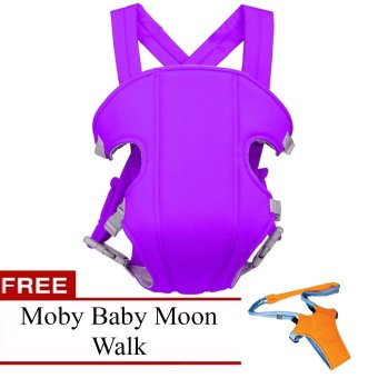 Harga Baby Carrier (Violet) with FREE Moby Baby Moon Walk