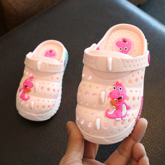Indoor soft bottom men slip Baobao slippers children's slippers