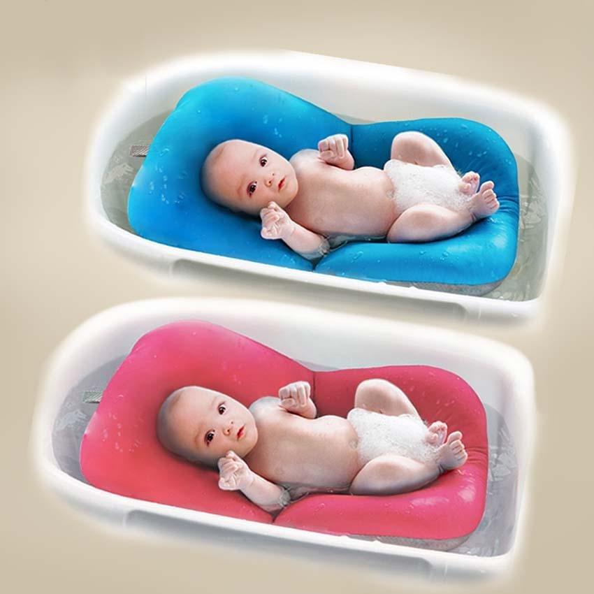 Philippines | Infant Baby Bath Pad Newborn Baby Bath Shower Mat Non ...