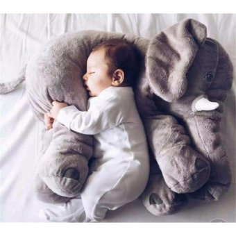 Ins elephant doll plush toy Pillow to accompany the baby to sleep toys - intl