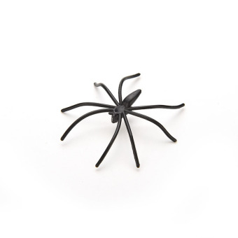 Jetting Buy Black Spider Joking Toys Plastic 20pcs - picture 2