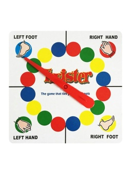 JollyChic Play Mat Twister Body Game Exercise Funny Parent-childKid's Toy - intl - 3