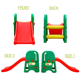 Jung Mo Toys Co. Slide For Kids (Green/Red) Made In Korea Price Philippines