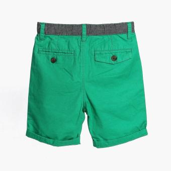 Just Jeans Boys Colored Bermuda Shorts (Green) - 2