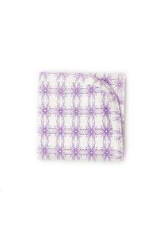 Kate Quinn Organics Receiving Blanket - Nouveau (Purple/White)