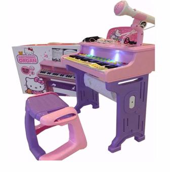 Ketty Play Electronic Organ Piano with Microphone Toy Set