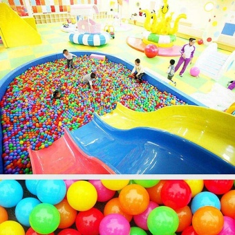 Kid 50pcs Soft Plastic Ocean Ball & Pool Swim Outdoor toy - intl - 5