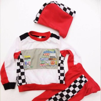 Kids Car Racer Lightning Mcqueen Costume (5 Years Old) Price Philippines