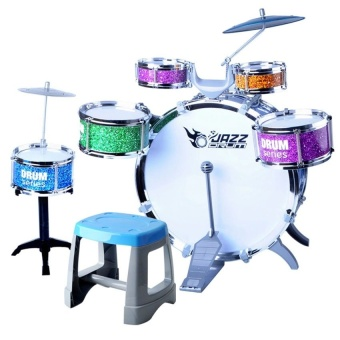 Kids Educational Toy Rock Drums Simulation Musical Instruments Set Price Philippines