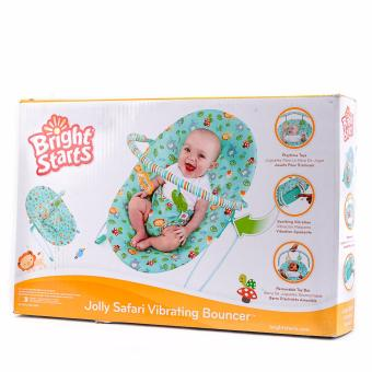 Kids II Bright Star Jolly Safari Vibrating Bouncer Price Philippines