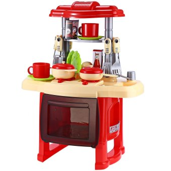 Kids Kitchen Cooking Toy Set For Role Play - 2