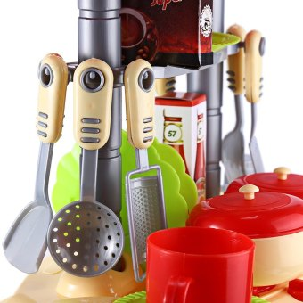 Kids Kitchen Cooking Toy Set For Role Play - 4