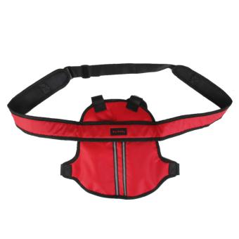 Kids Motorcycle Safety Belt Electric Vehicle Strap Carrier Adjustable Red