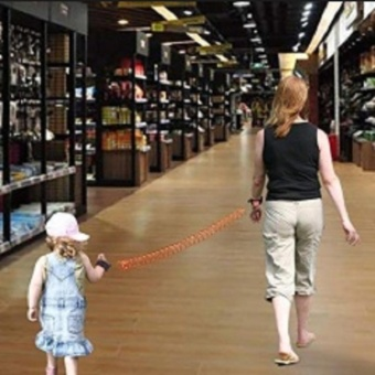 Kids Toddler Walking Wrist Safety Anti-Lost Wristbands HarnessLeash Strap Adjustable - 3