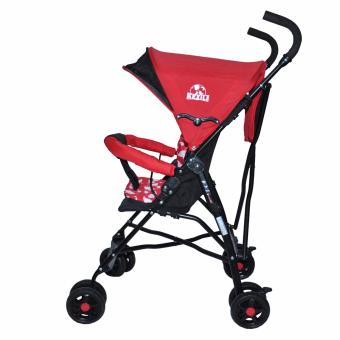 Kidsplay Simple Stroller Red - 3
