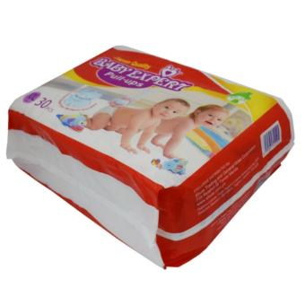 L-5112 Shuta Disposable Baby Expert Baby Diaper (XXL-30pcs) Red - 2