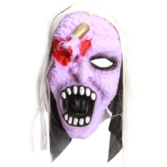 LALANG Halloween Silicone Burst Eye Ghost Mask