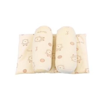 LALANG Infant Toddler Baby Soft Head Support Cushion Pillow (Beige)- intl - 3