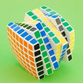 LanLan 7x7 Magic Puzzle Cube Brain Teasers White - intl - 5