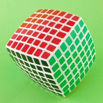 LanLan 7x7 Magic Puzzle Cube Brain Teasers White - intl - 2