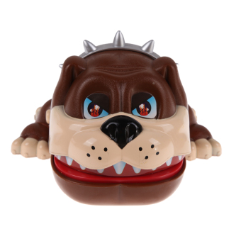 Large Bulldog Mouth Dentist Bite Finger Game Funny Toy Gift - picture 2