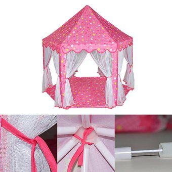 ... Large Princess Castle Tent Baby Portable Indoor Outdoor PlayHouse(Pink) - intl - 3 ...  sc 1 th 225 & Where To Buy Large Princess Castle Tent Baby Portable Indoor ...