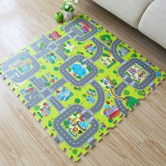 Large rugs kids foam children baby play mat board game pad pieces doormat child floor mat crawling mat gym puzzle carpet mats - intl