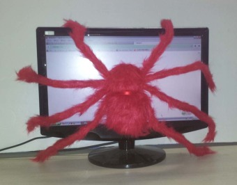 Large Spider Plush Toy 75cm - picture 2