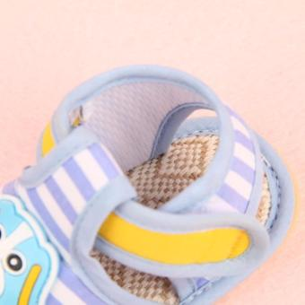 lazada and USA best selling shoes Dog blue - 2