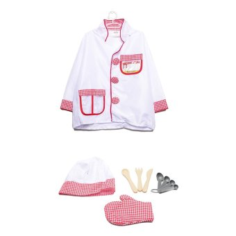 Le Sheng Chef Dress-Up Kids Costume Set