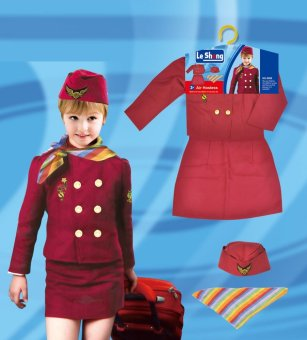 Le Sheng Flight Attendant Costume