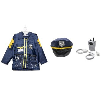 Le Sheng Police Officer Dress-Up Kids Costume Set