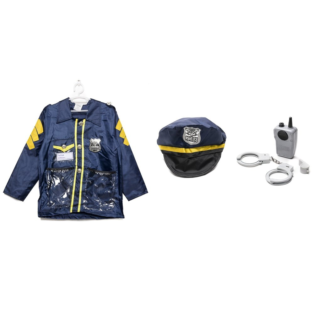 le sheng police officer dress up kids costume set lazada ph