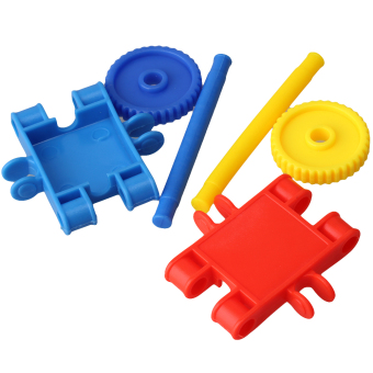Learning Resources Gears Toy Square Building Blocks Multi-color - picture 2