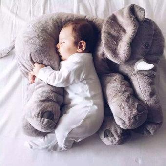 Leegoal Baby Elephant Plush Pillow Cool Big Cushion Soft Doll BestGifts Toy Gray - intl - 4