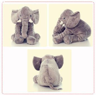 Leegoal Baby Elephant Plush Pillow Cool Big Cushion Soft Doll BestGifts Toy Gray - intl - 2