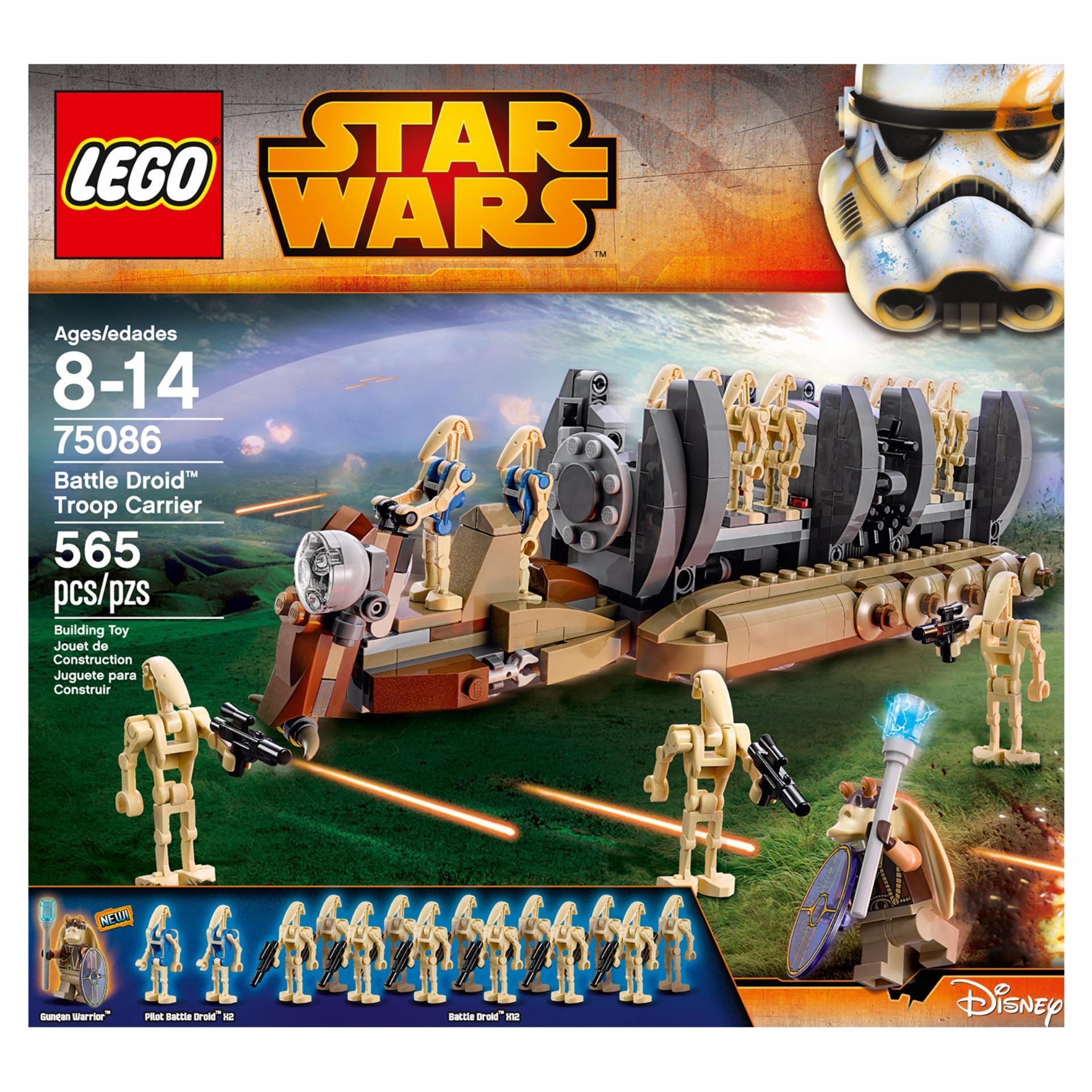 LEGO Star Wars Battle Droid Troop Carrier  Lazada PH