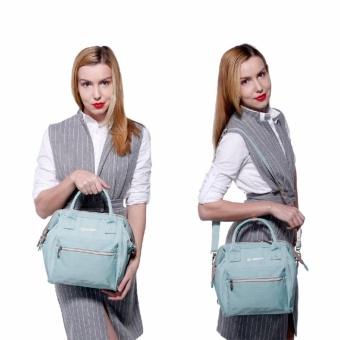 Lekebaby 2017 Fashion Diaper Tote Bag, Diaper Backpack-Mini (Green) - 4