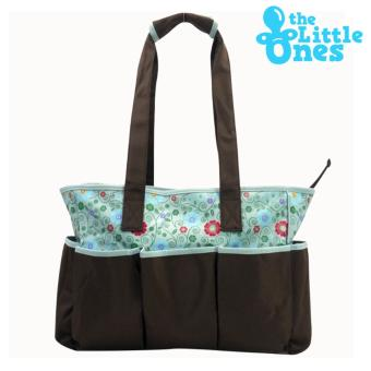 Little One's Baby Kingdom Baby Stuff Carrier Multifunction FashionDiaper Nursery Bags Baby Bag (Floral Design) Price Philippines
